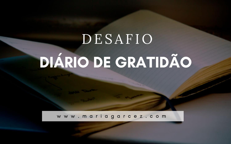 Desafio: Diário de Gratidão